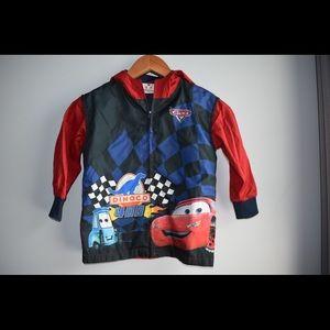 Disney Cars boys size 4 light spring jacket